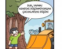 ODTÜ' de başlatılan ağaç kıyımı