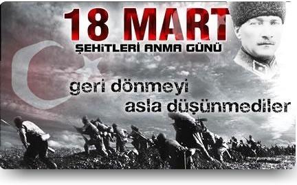 18 MART 2015 ÇANAKKALE ZAFERİ (100. YIL)