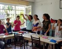 Mualla Eke'de AIESEC İngilizce Yaz Okulu başladı