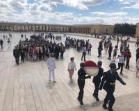 ÇYDD yeni Yönetim Kurulu Anıtkabir'i ziyaret etti