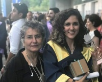 Our scholarship student Özlem's big success