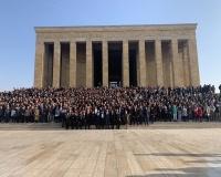 Türkan Saylan'ın öğrecileri Anıtkabir'de