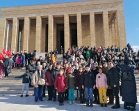 ÇYDD Küçükçekmece Şubesi öğrencileri Anıtkabir'de