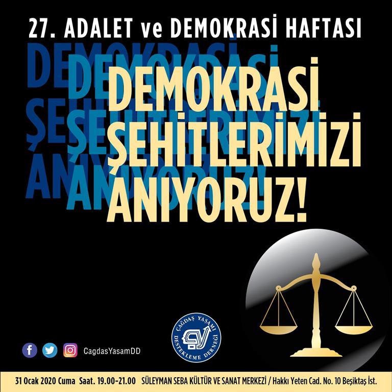 Adalet ve Demokrasi Haftası