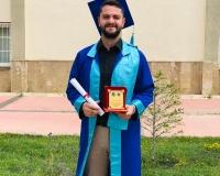 Mehmet Yağız Okulunu Birincilikle Bitirdi