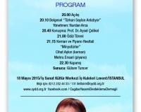 5. TÜRKAN SAYLAN SANAT VE BİLİM ÖDÜLLERİ / 6. ANMA