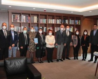 İstanbul Barosu ziyaret edildi.