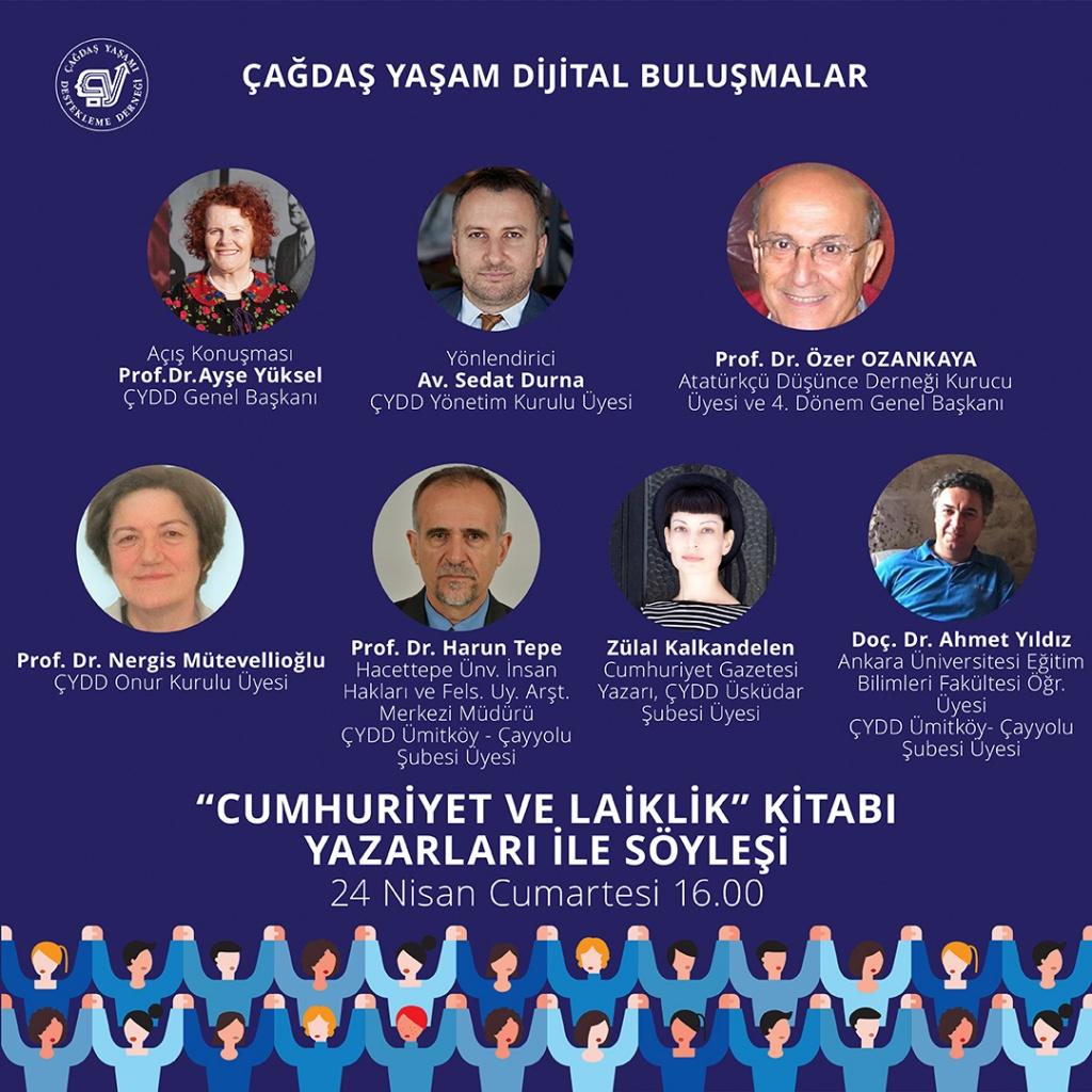"""""""Cumhuriyet ve Laiklik Kitabı Yazarlarıyla Söyleşi"""