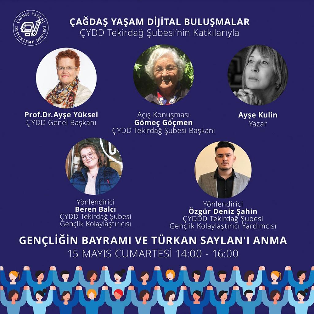"""Gençliğin Bayramı Ve Türkan Saylan'ı Anma"""""""
