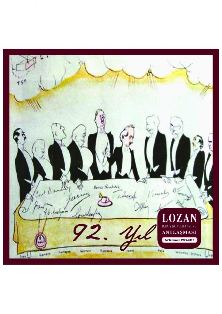 Lozan Barış Konferansı 92. yıldönümü