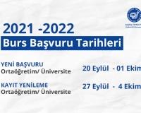 Scholarship Application Dates